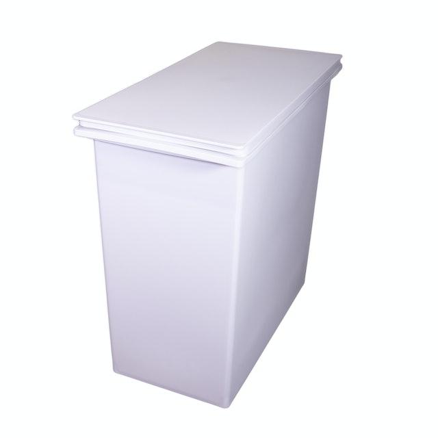 無印良品 ポリプロピレンフタが選べるダストボックス・小 1枚目