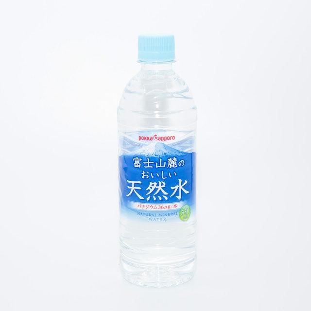 ポッカサッポロフード&ビバレッジ 富士山麓のおいしい天然水 530ml×24本 1枚目