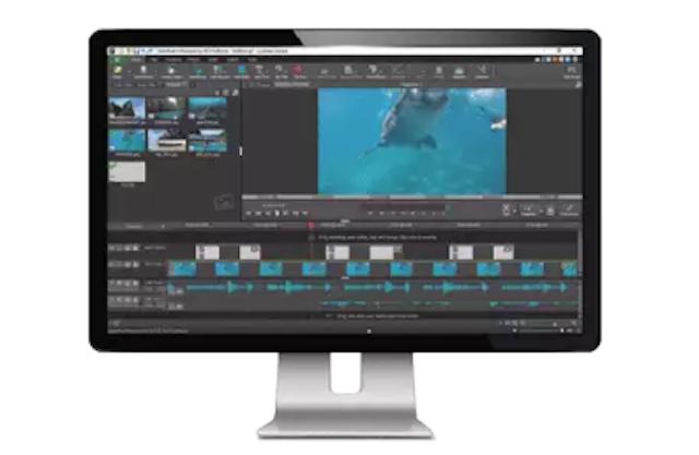 NHC Software VideoPad Video Editor トライアル版 1枚目