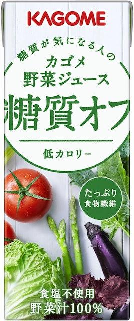 カゴメ カゴメ 野菜ジュース 糖質オフ 200ml×24本 1枚目