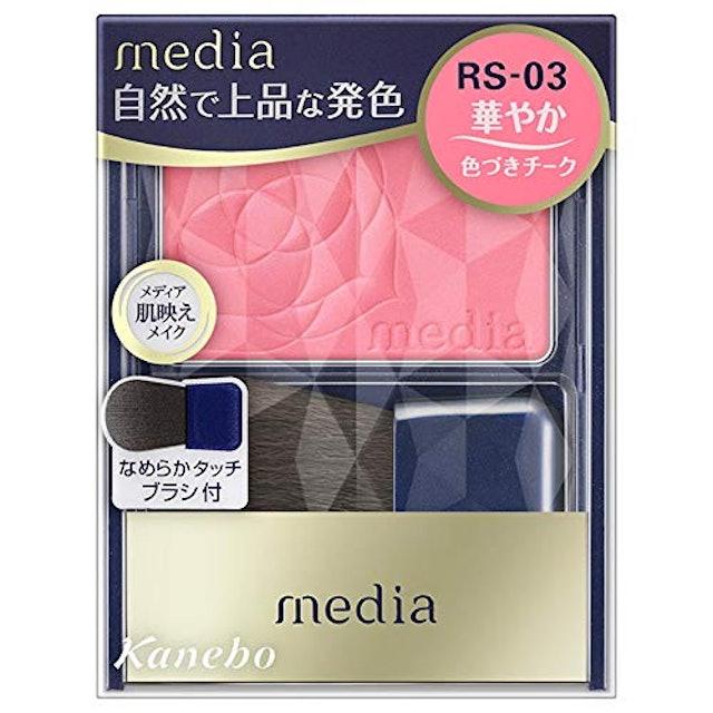 カネボウ化粧品 メディア ブライトアップチークN 1枚目