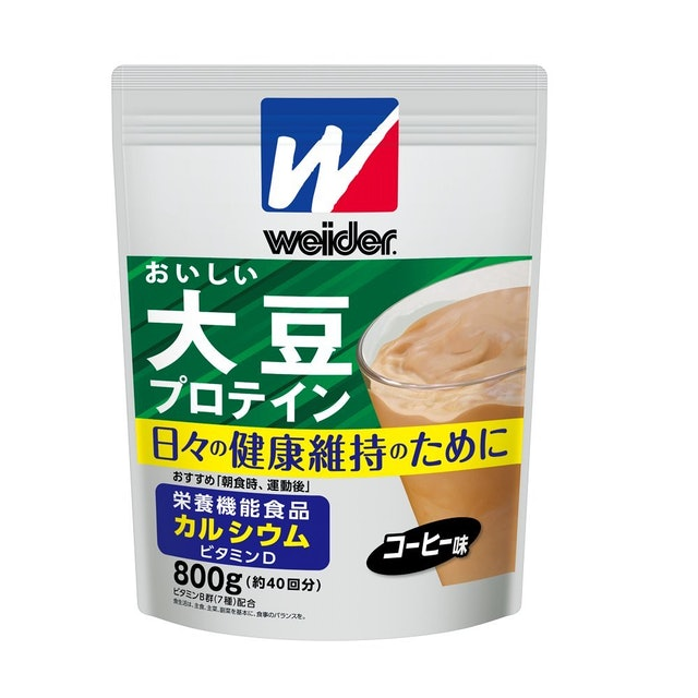 森永製菓 ウイダー おいしい大豆プロテイン コーヒー味  1枚目