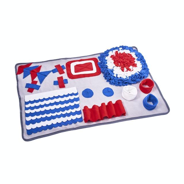 知育玩具 訓練毛布
