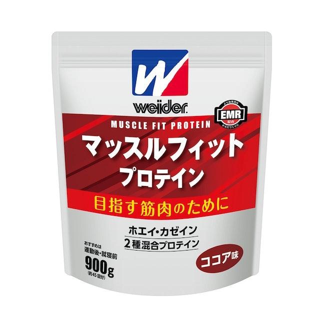 森永製菓 ウイダー マッスルフィット プロテイン ココア味 1枚目