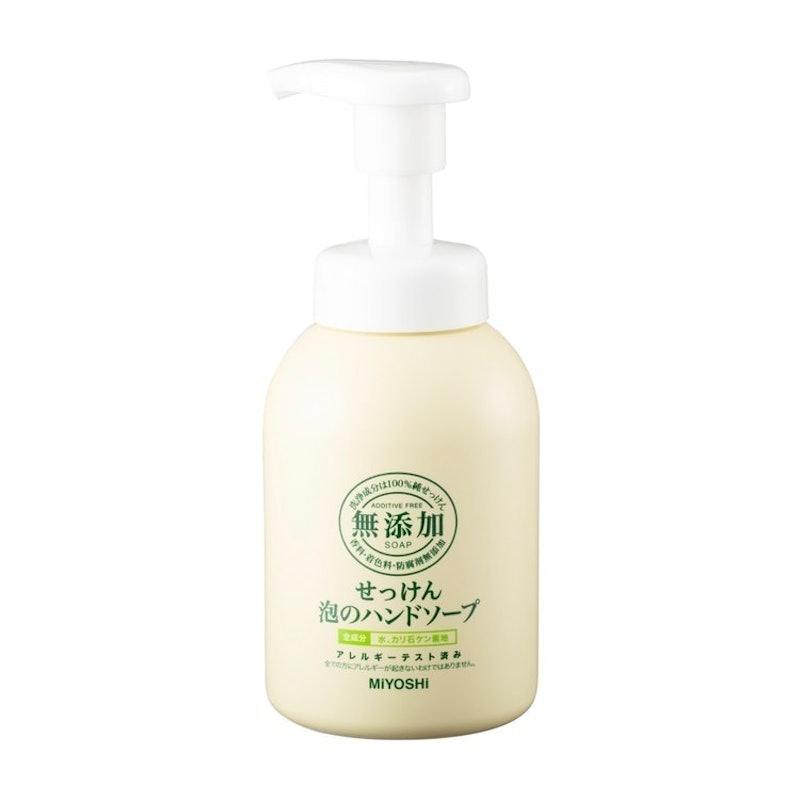 玉の肌石鹸 無添加せっけん泡のハンドソープ 350ml