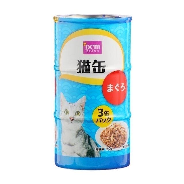 DCMブランド 猫缶 160g×3缶