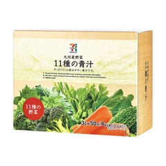 九州薬品工業 セブンプレミアム 九州産野菜 11種の青汁 1枚目