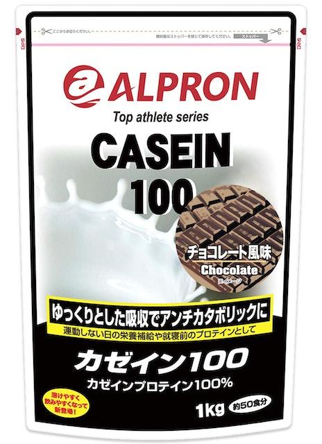 アルプロン カゼインプロテイン100 チョコレート風味 1枚目