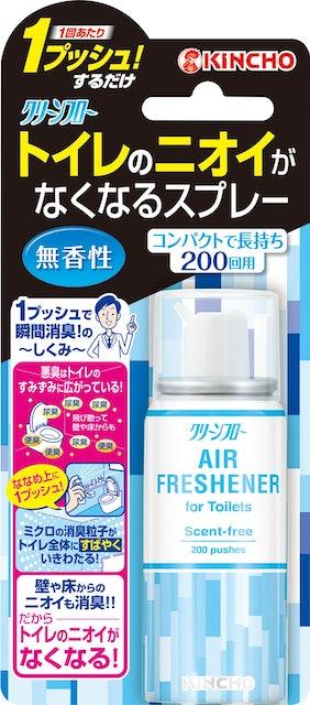 大日本除蟲菊 トイレのニオイがなくなるスプレー 1枚目