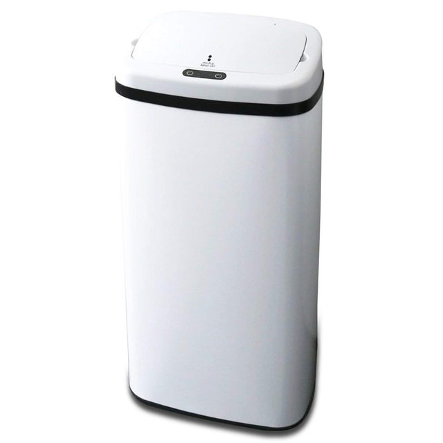 コンポジット センサー全自動開閉式ステンレスごみ箱 1枚目