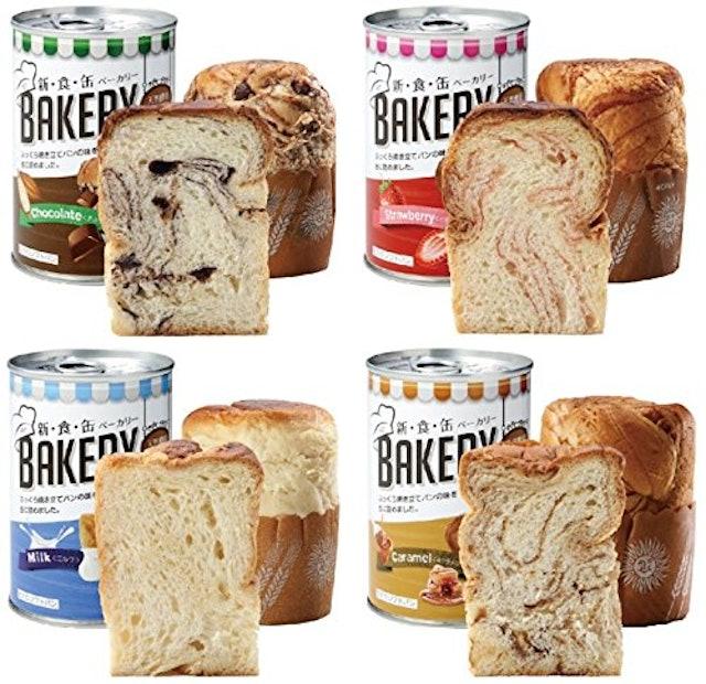 新食缶ベーカリー缶入りソフトパン 4缶セット