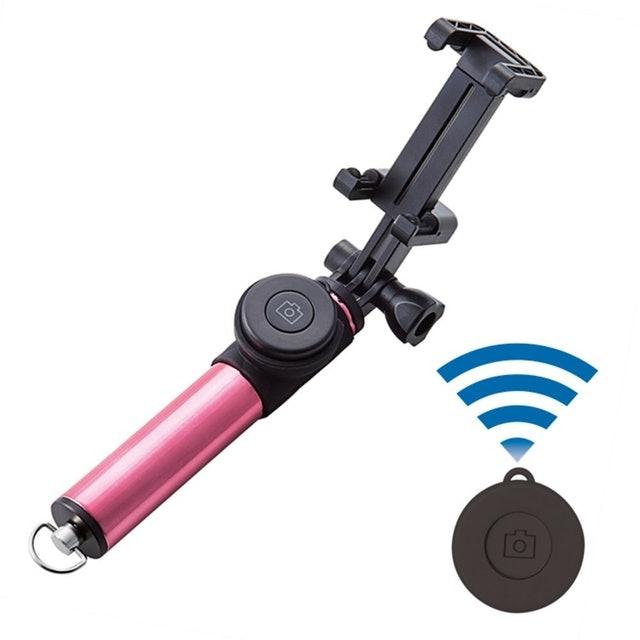 エレコム Bluetooth シャッターボタン付き 自撮り棒  1枚目