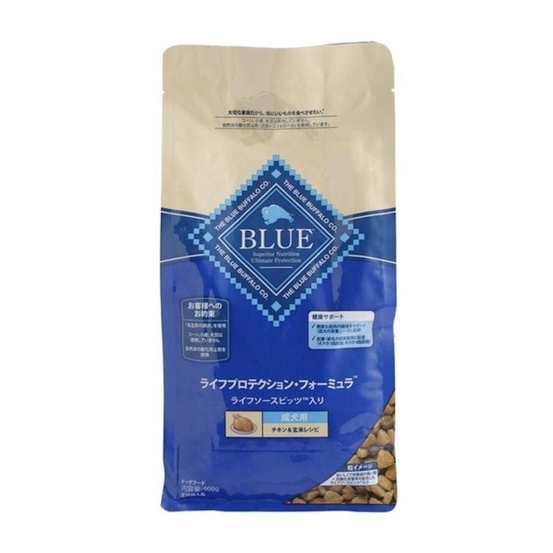 ブルーバッファロー ブルー ライフプロテクション・フォーミュラ チキン&玄米レシピ 900g