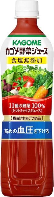 カゴメ 野菜ジュース食塩無添加 1枚目