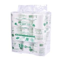 泉製紙 業務用トイレットペーパー エコロ 110mシングル 1枚目
